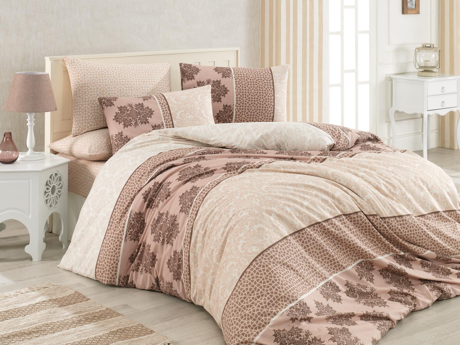 3 tlg renforce baumwolle bettw sche bettgarnitur rei verschluss 200x200 cm neu ebay. Black Bedroom Furniture Sets. Home Design Ideas