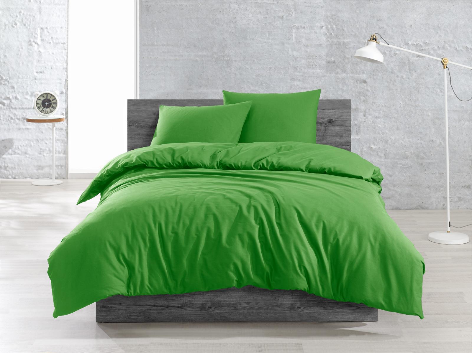 3 tlg renforce bettw sche bettgarnitur 200x200 cm i 200x220 cm uni farben ebay. Black Bedroom Furniture Sets. Home Design Ideas