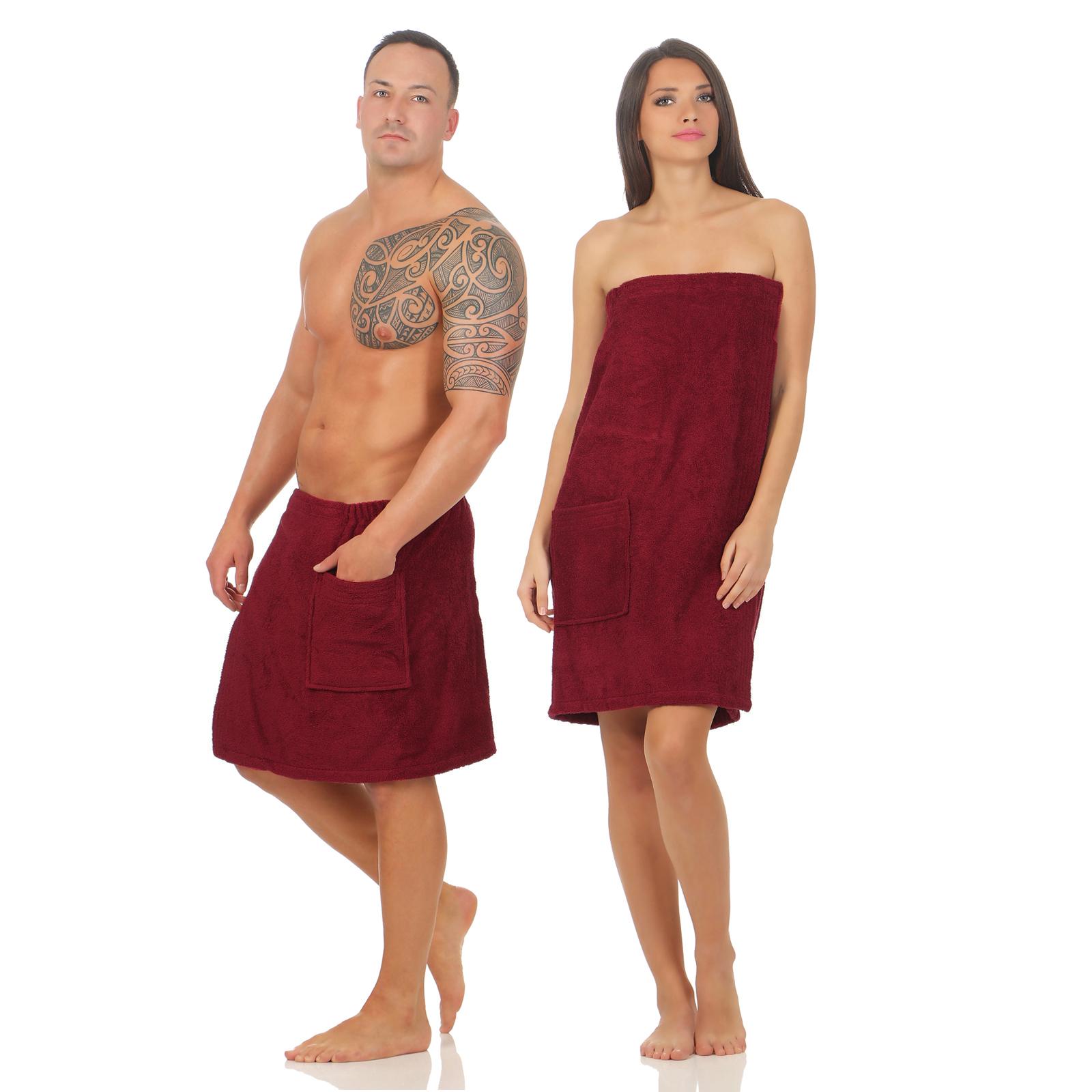 damen herren saunakilt saunatuch wellness klettverschluss sarong kilt uni farben ebay. Black Bedroom Furniture Sets. Home Design Ideas