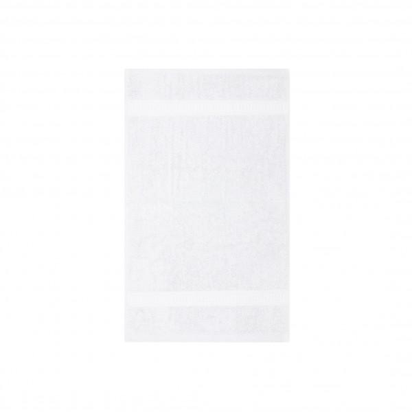 Frottee Gästetuch 30x50 cm Weiß