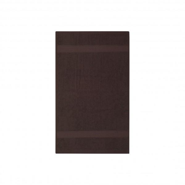 Frottee Gästetuch 30x50 cm Braun