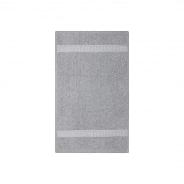 Frottee Gästetuch 30x50 cm Silber