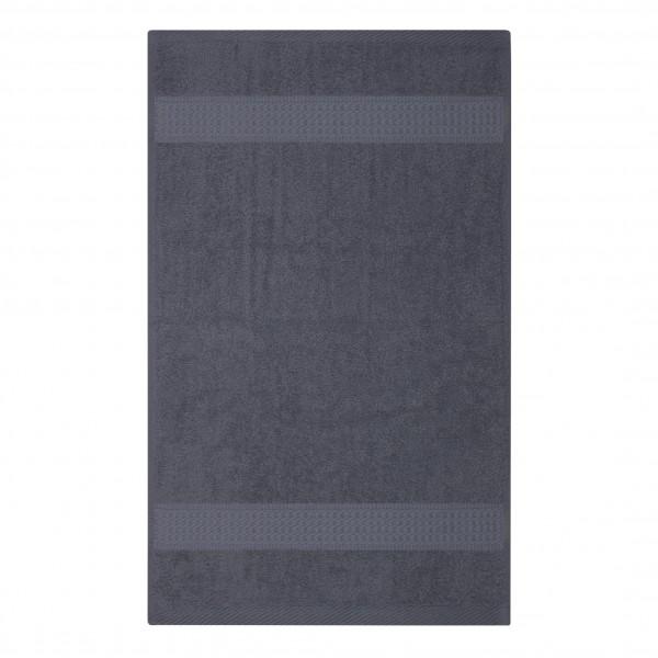 Frottee Handtuch 50x100 cm Anthrazit