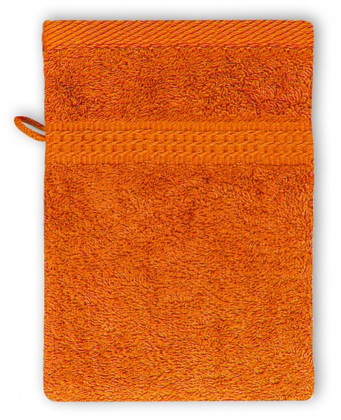 Frottee Waschhandschuh 16x21 cm Terra