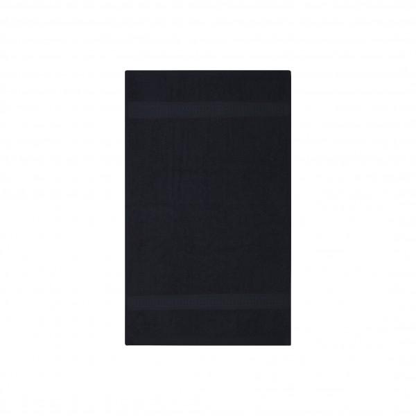 Frottee Gästetuch 30x50 cm Schwarz