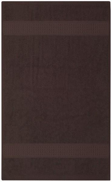 Frottee Duschtuch 70x140 cm Braun
