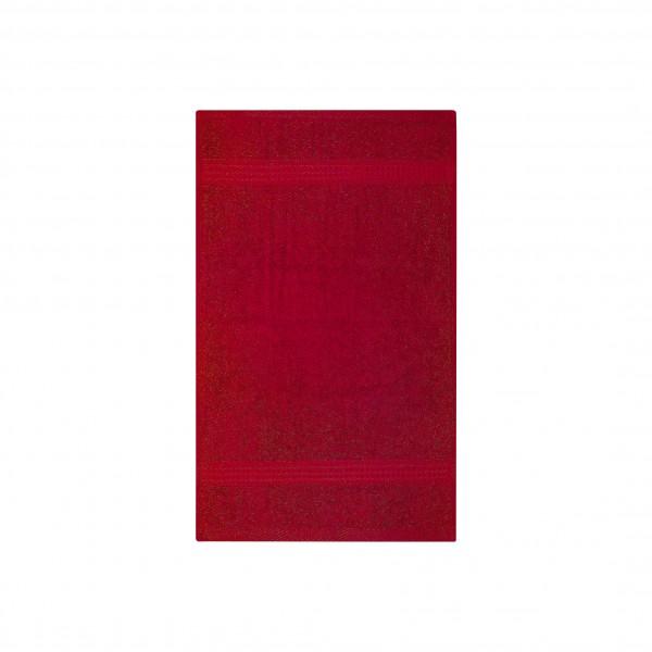 Frottee Gästetuch 30x50 cm Rot