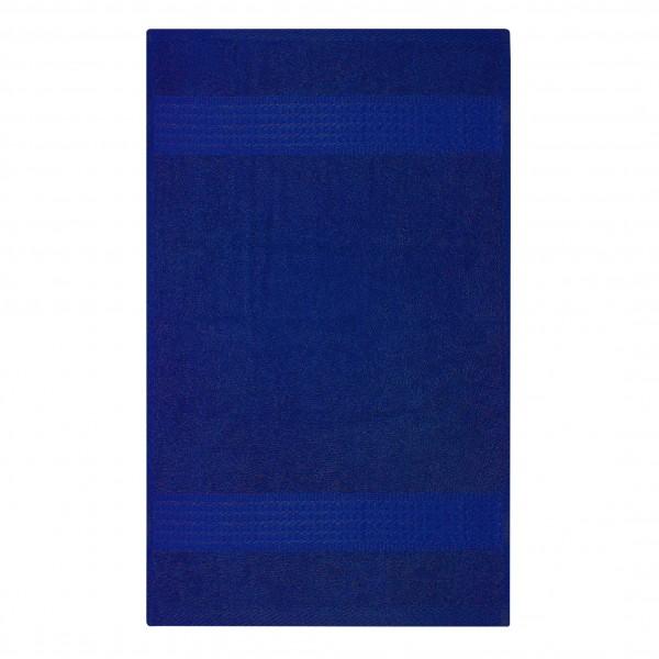 Frottee Handtuch 50x100 cm Royalblau