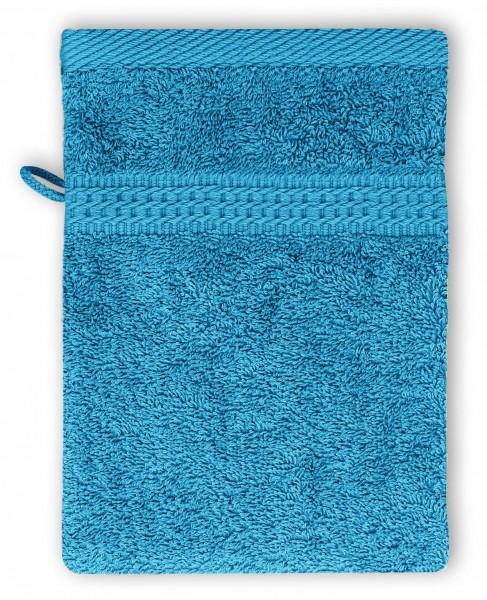 Frottee Waschhandschuh 16x21 cm Türkis