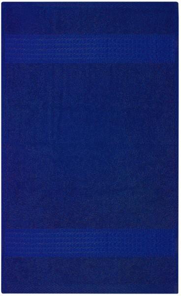 Frottee Duschtuch 70x140 cm Royalblau