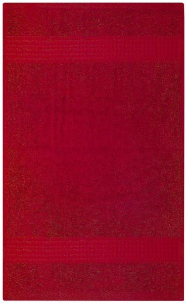 Frottee Duschtuch 70x140 cm Rot