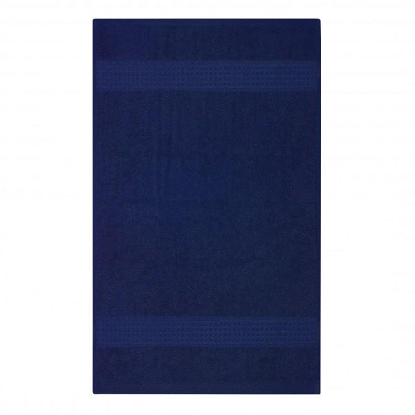 Frottee Handtuch 50x100 cm Navy