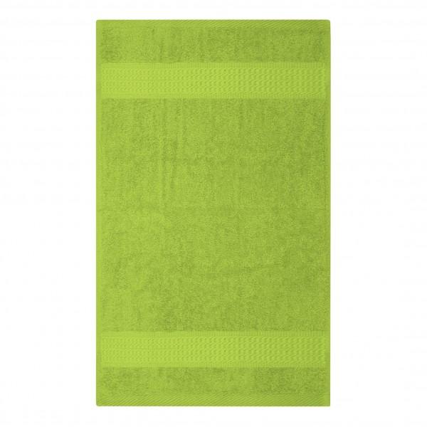 Frottee Handtuch 50x100 cm Apfelgrün